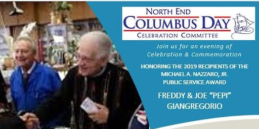 2019 North End Columbus Day Reception