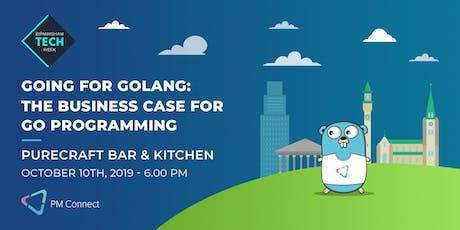 Going for Golang: The business case for Go Programming  tickets