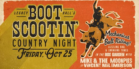 Boot Scootin' Country Night w/ Mike and The Moonpies tickets