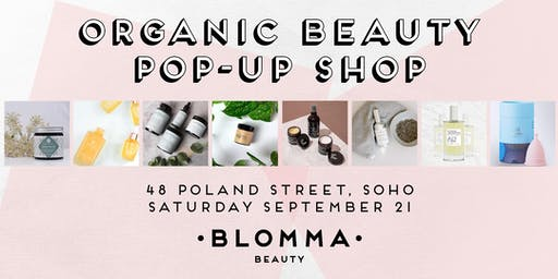 Organic Beauty Pop Up Shop