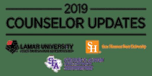 LU/SFASU/SHSU Counselor Update – Memorial City, Houston