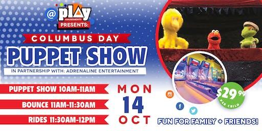 @PlayAmusement Presents: Columbus Day Puppet Show
