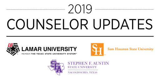 LU/SFASU/SHSU Counselor Update – Sugar Land