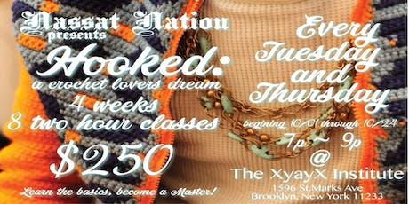 Nassat Nation presents Hooked: A Crochet Lovers Dream tickets