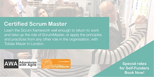 Certified Scrum Master (CSM) Course | January 2020 | London