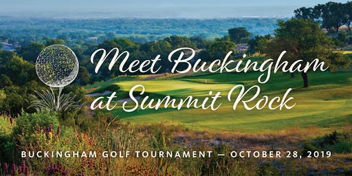 Buckingham Golf Tournament at Summit Rock - Horseshoe Bay Resort