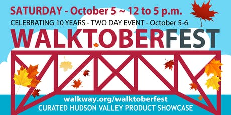 Walktoberfest - Bounty of the Hudson Valley - Saturday tickets