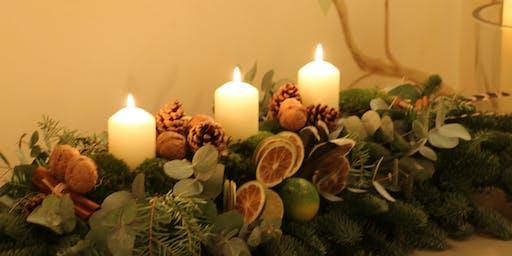 Deck the Halls: Christmas Table Decoration Workshop