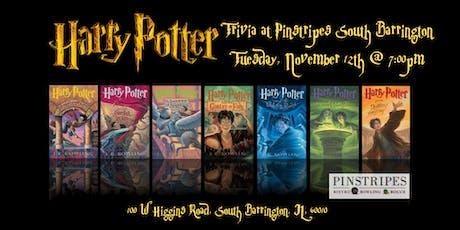 Harry Potter Books Trivia at Pinstripes South Barrington tickets