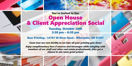 Open House & Client Appreciation Social tickets