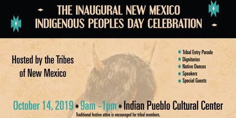 Inaugural New Mexico Indigenous Peoples Day Celebration tickets