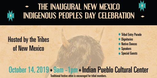 Inaugural New Mexico Indigenous Peoples Day Celebration