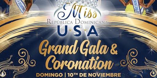 Gala coronations Miss Republica Dominicana USA 2019