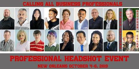 New Orleans Headshot Event tickets