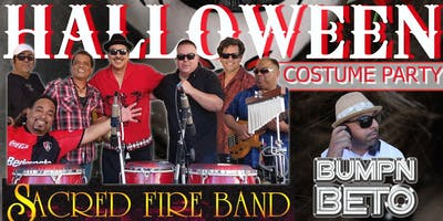 SACRED FIRE BAND HALLOWEEN COSTUME PARTY