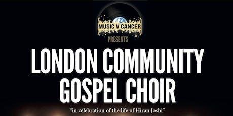 Music V Cancer Presents The London Community Gospel Choir tickets