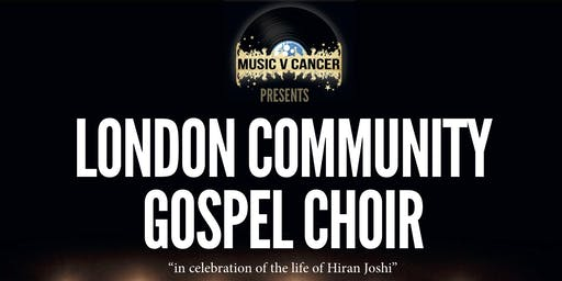 Music V Cancer Presents The London Community Gospel Choir