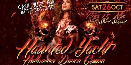 The Haunted Yacht NYC Halloween Dance Cruise Hornblower Serenity Yacht tickets