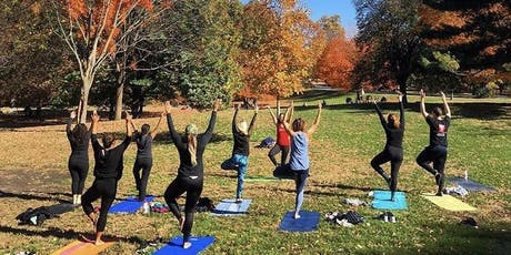 Outdoor Yoga in the Park tickets