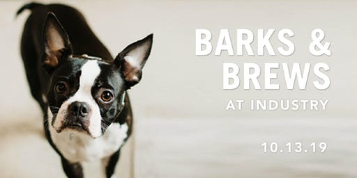 INDUSTRY Barks & Brews Event