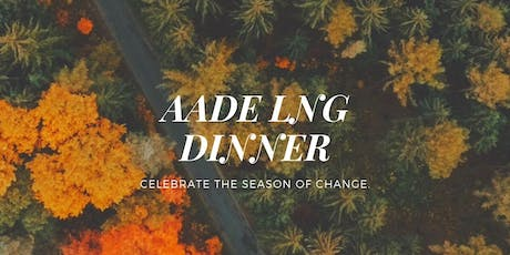 AADE Local Networking Dinner tickets