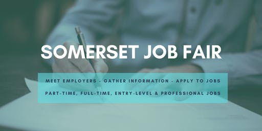 Somerset Job Fair - October 22, 2019 Job Fairs & Hiring Events in Somerset, NJ