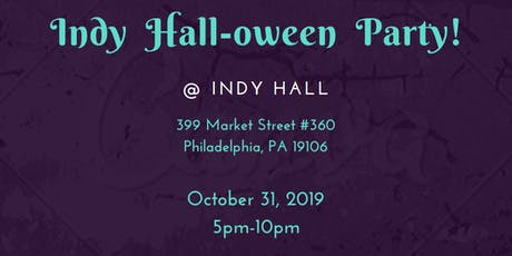 Indy Hall-oween Party! tickets
