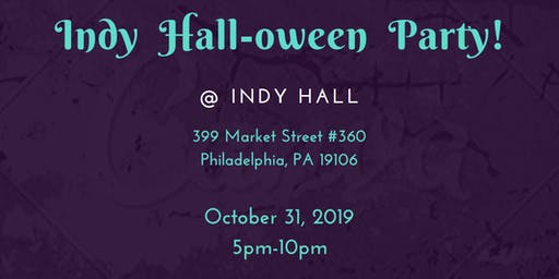 Indy Hall-oween Party!
