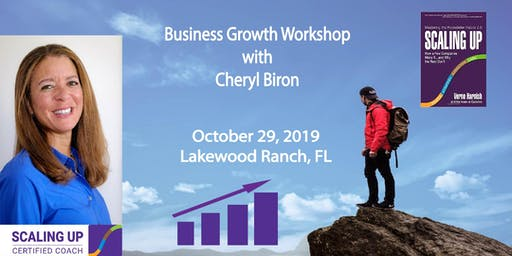 Scaling Up Business Growth Workshop - Sarasota Area, Florida