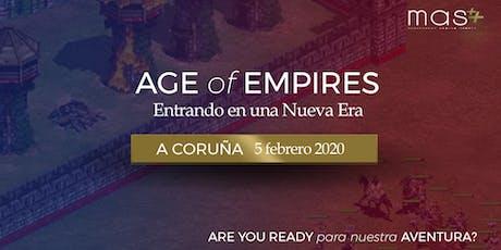 Entrando en una Nueva Era: A Coruña entradas