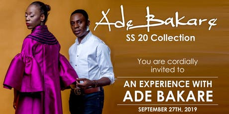 An Experience With Ade Bakare tickets