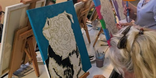 Paint Your Pet at the Baymont Inn and Suites in Mandan