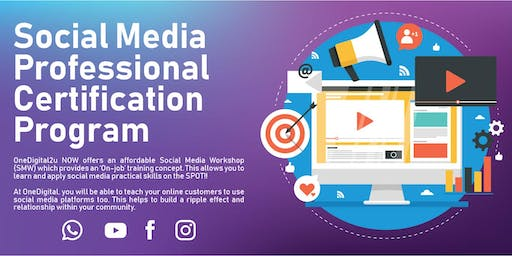 Social Media Professional Certification Program