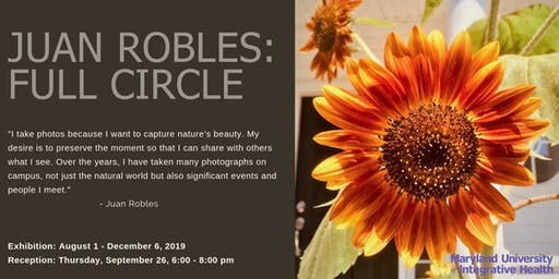 Himmelfarb Gallery Artist Reception - Juan Robles: Full Circle