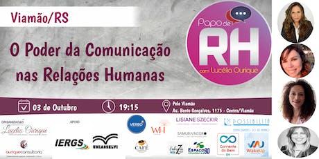 Papo de RH em Viamão/RS ingressos
