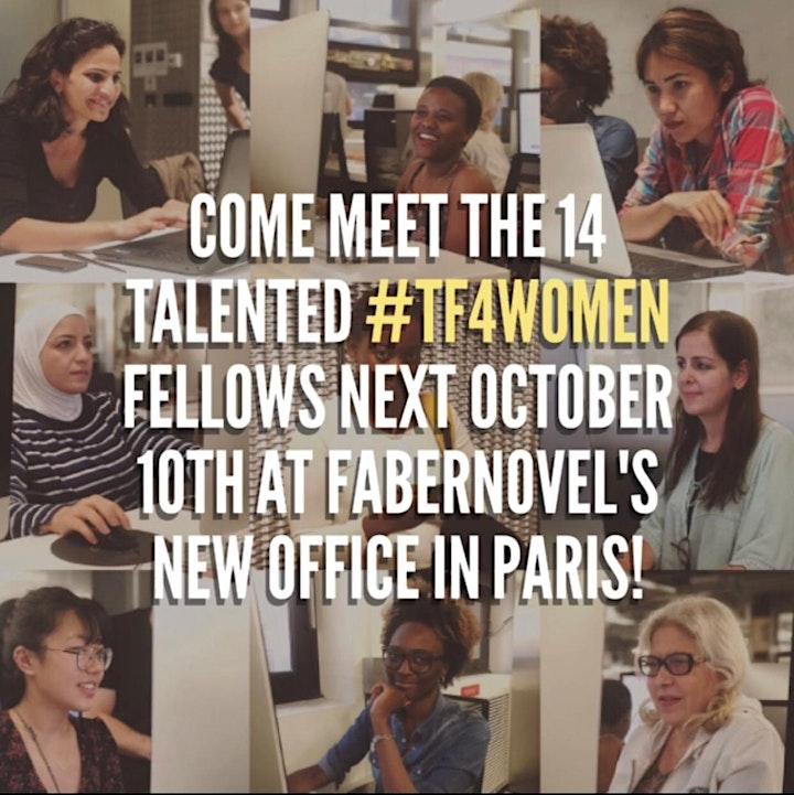Image pour #TF4Women : réseauter pour s'intégrer !