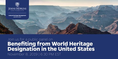 Benefiting from World Heritage Designation in the United States tickets