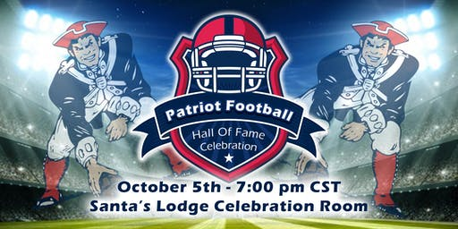 Patriot Football Hall of Fame Celebration
