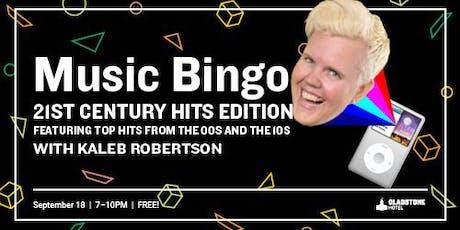 Music Bingo: 21st Century Hits Edition tickets