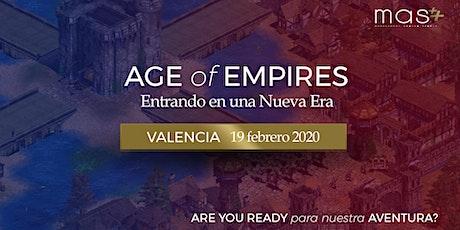 Entrando en una Nueva Era: Valencia entradas