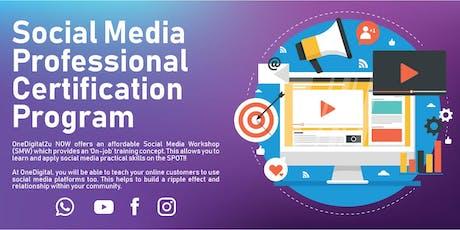 Social Media Professional Certification Program tickets