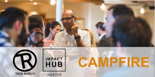 Campfire Entrepreneur Team Building: Tech Ranch and IMPACT Hub Austin