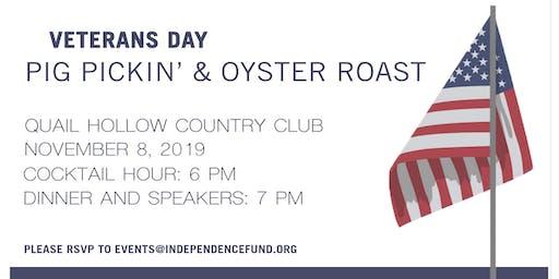 Veterans Day Pig Pickin' & Oyster Roast