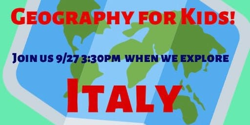 Geography for Kids: Italy