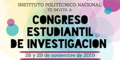 CONGRESO ESTUDIANTIL DE INVESTIGACIÓN