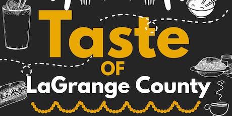 Taste of LaGrange County tickets