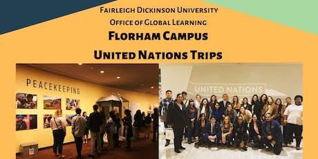 FDU Florham Campus UN Trip 11/14 tickets