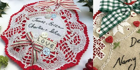 Vintage Christmas Decorations Sewing Workshop with Caroline Madaher tickets