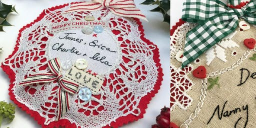 Vintage Christmas Decorations Sewing Workshop with Caroline Madaher