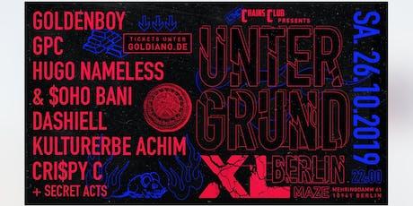 CHAINS CLUB x GOLDENBOY: GPC, Soho Bani & Hugo Nameless & Special Guests Tickets